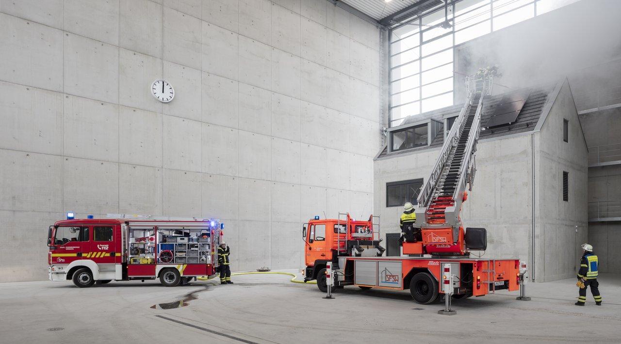 Požari u ovoj betonskoj hali normalna su stvar