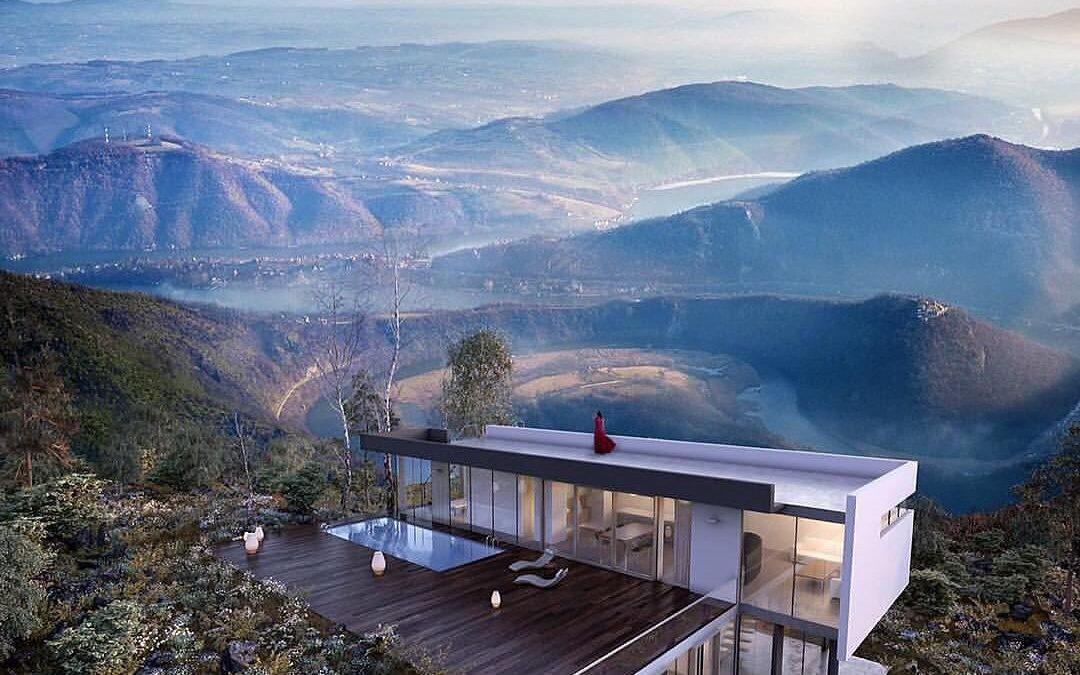 Spektakularna kuća niče u dolini Morave