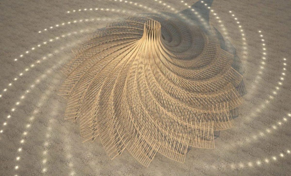 Izabran dizajn totema za festival Burning Man 2018.