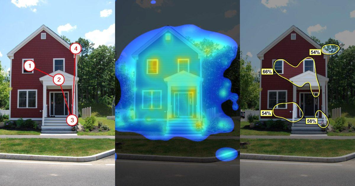Šta možemo naučiti o arhitekturi na osnovu praćenja pokreta očiju posmatrača
