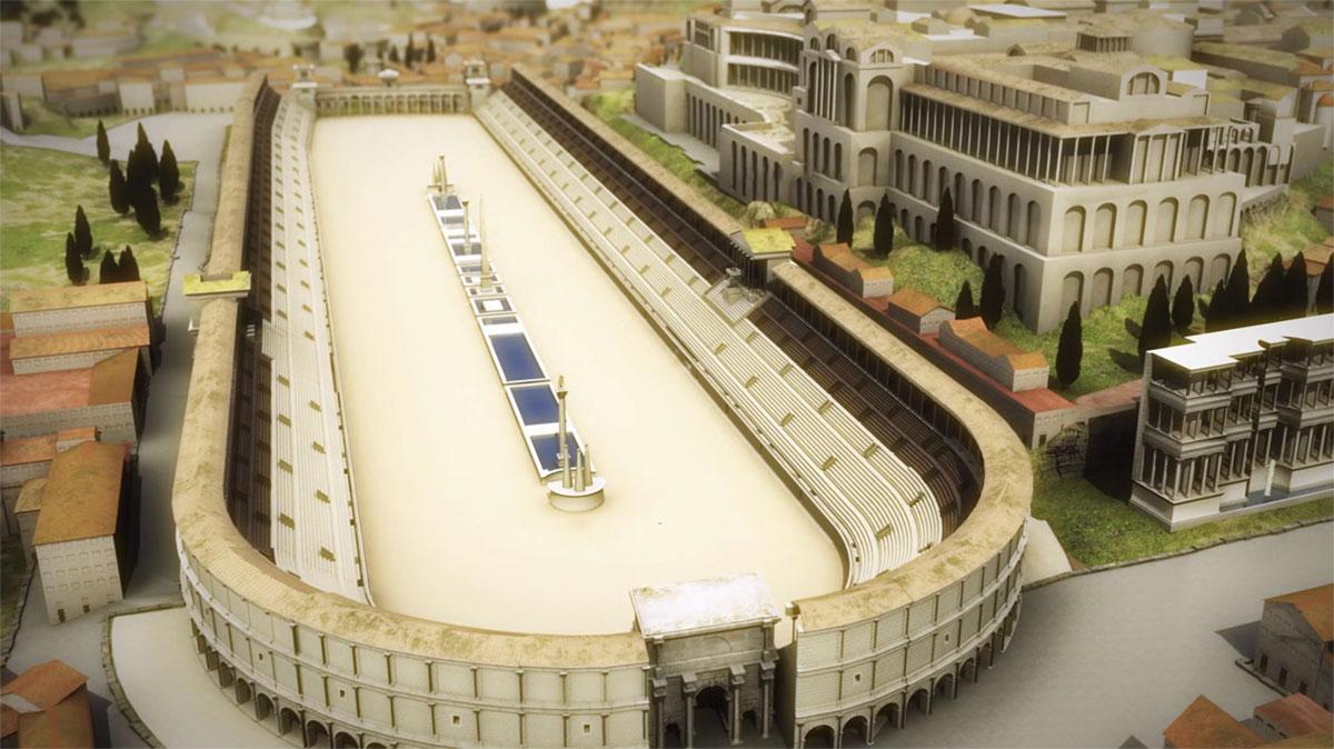 Ovaj stadion mogao je da primi četvrtinu stanovništva Rima