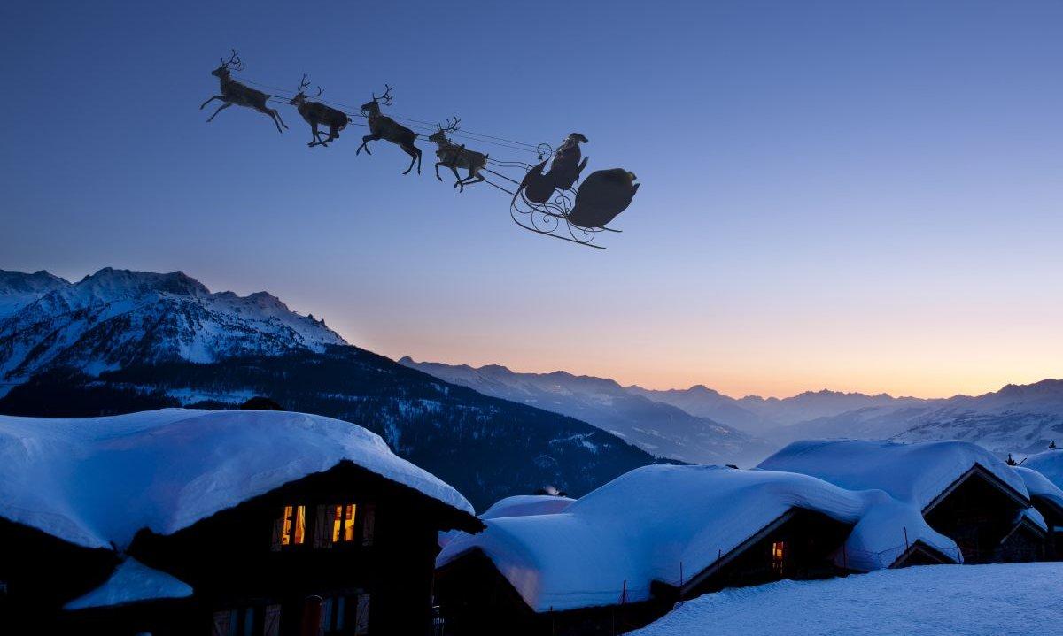Dokazano! Krovovi mogu podneti težinu Deda Mraza