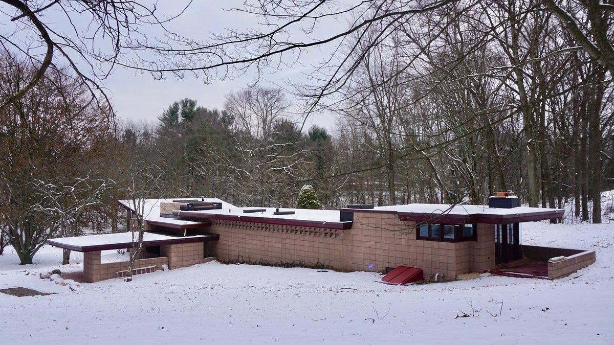 Odsednite u kući koju je projektovao Frenk Lojd Rajt
