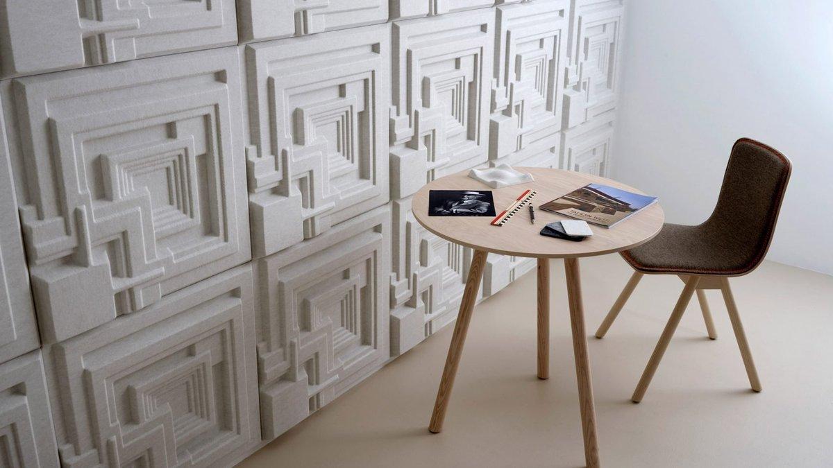 Rajtova arhitektura kao motiv za akustične panele