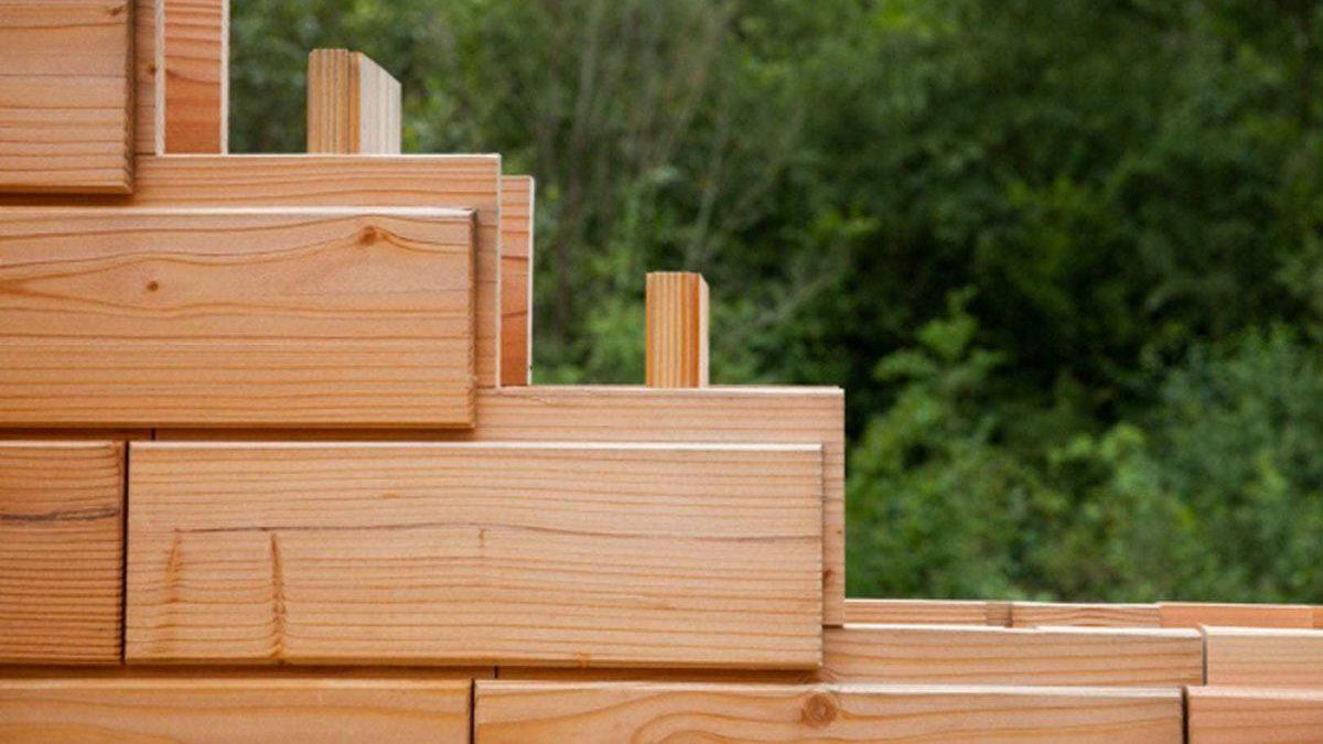 Inovativna drvena cigla skraćuje vreme izgradnje kuće na svega par dana