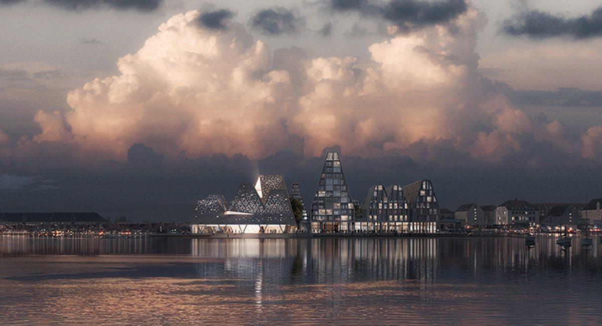 Nova vizura Kopenhagena na vodi po ideji Kenga Kume