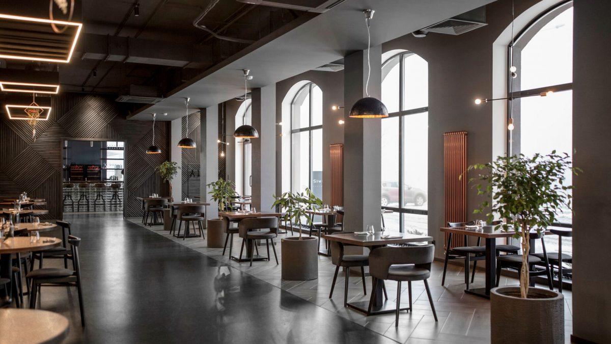 Enterijer restorana u Minsku prati krilaticu manje je više