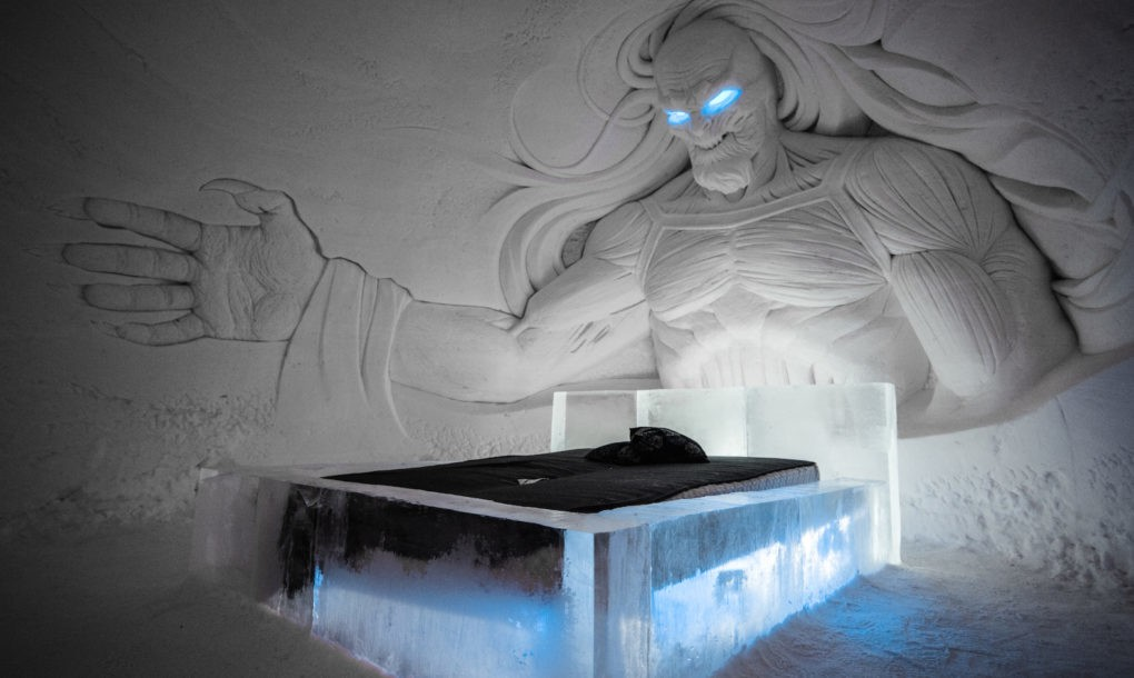 Otvoren hotel od leda čiji je dizajn inspirisan serijom Igra prestola