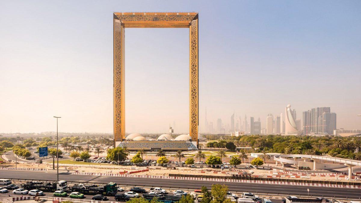 Zgrada koja je uokvirila Dubai