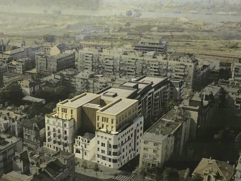 Kako Ce Izgledati Zgrade U Kneza Milosa Na Mestu Americke Ambasade