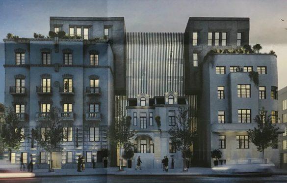 Americka Ambasada Gradnja