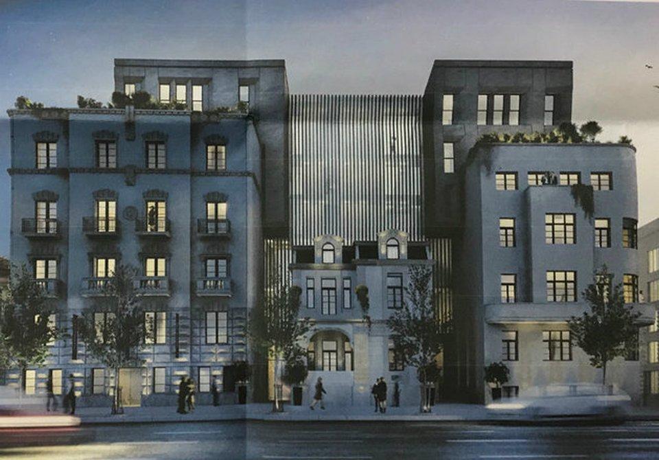 Kako će izgledati zgrade u Kneza Miloša na mestu američke ambasade