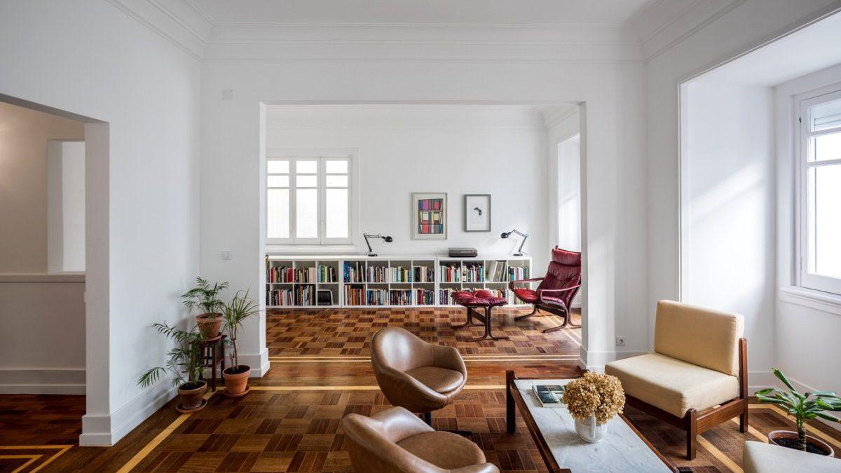 Šah parket kao polazna tačka za renoviranje stana u Lisabonu
