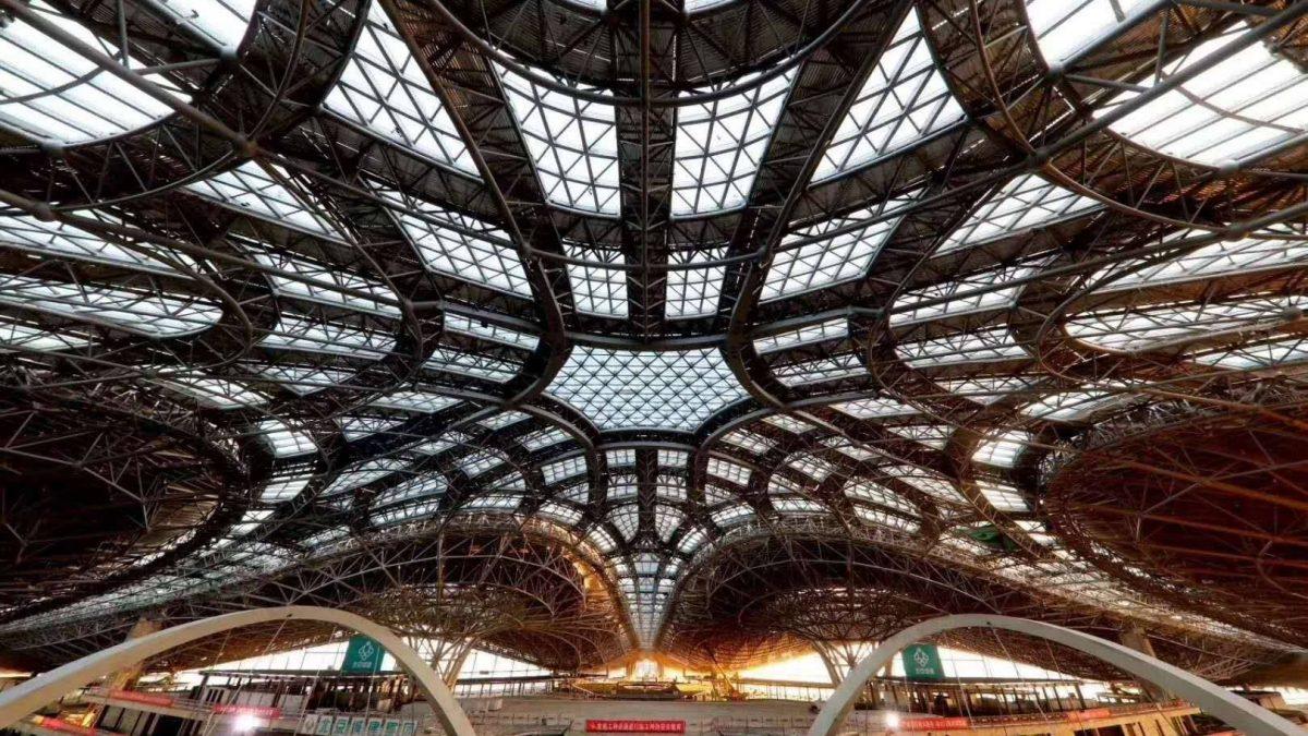 Ekskluzivne fotografije gradilišta novog aerodroma u Pekingu