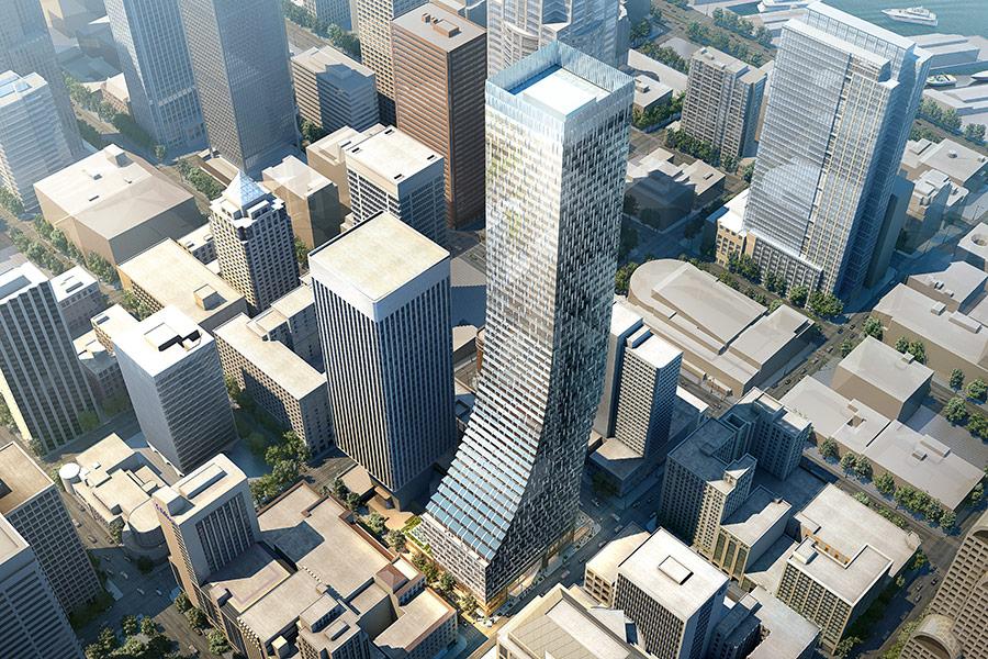 Druga najviša kula u Sijetlu gradiće se bez armature