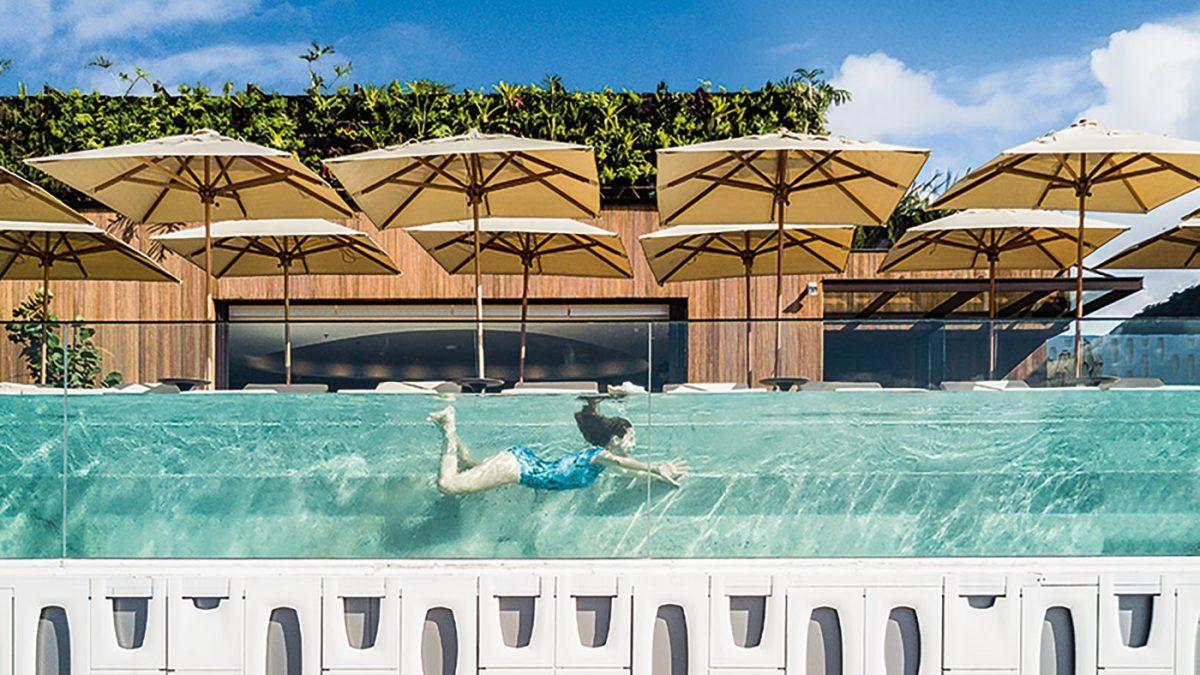 Hotel Emiliano u Riju po projektu studija Arthur Casas