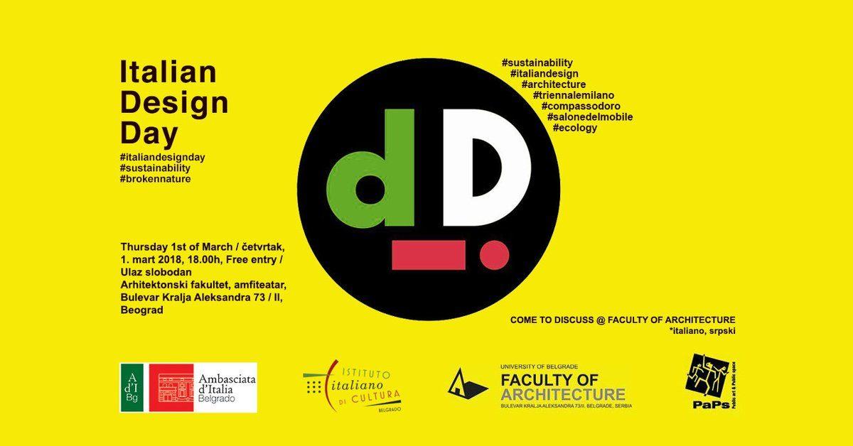 Dan italijanskog dizajna u Beogradu