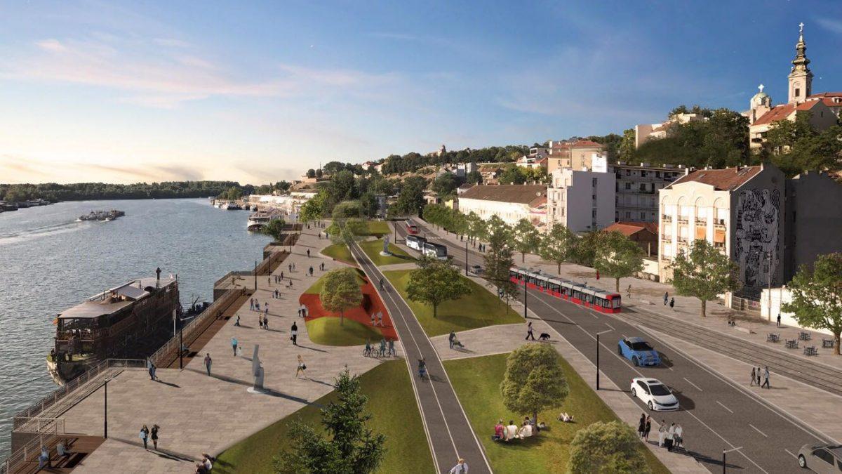 Rekonstrukcija Karađorđeve ulice – od Velikih stepenica do nove pasarele