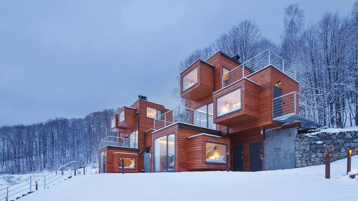 Kubična kuća u Poljskoj koja gleda na sve strane sveta