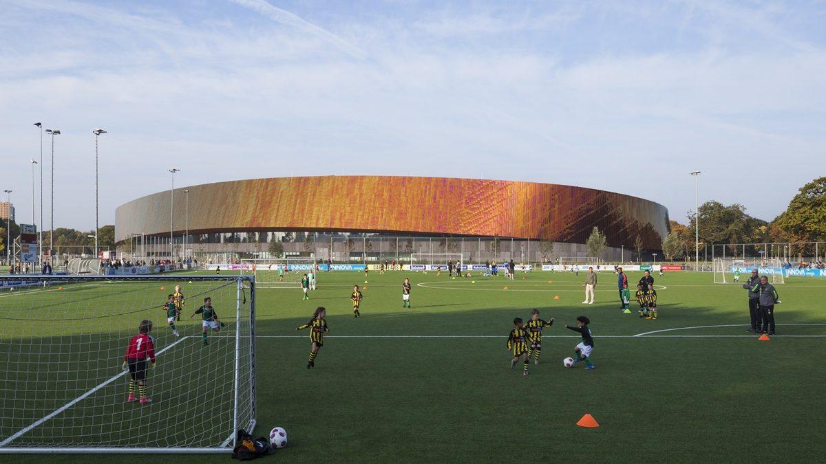 Ovako izgleda energetski održiv sportski kampus u Hagu