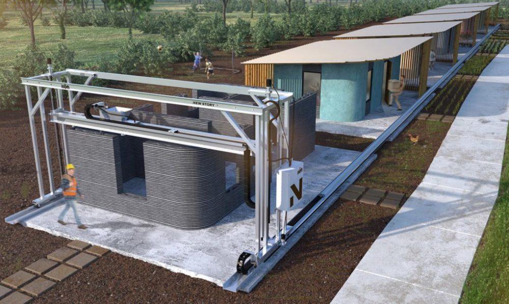 3D štampana kuća čija izgradnja traje manje od dan i košta 4.000 evra