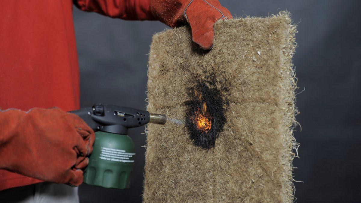 Biorazgradiva izolacija koja će izgoreti tek nakon sat vremena