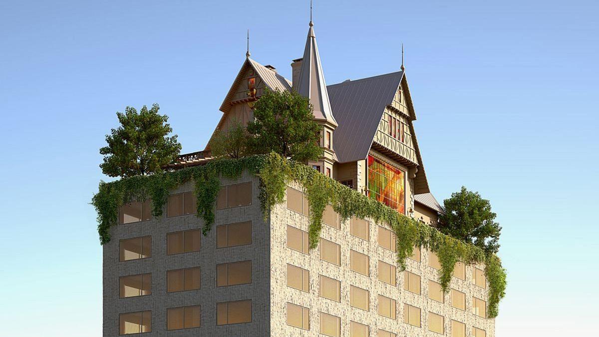 Nadrealna nadgradnja hotela koju potpisuje Filip Stark