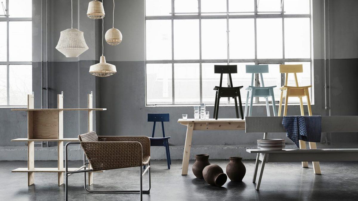 Savršeno nesavršena Ikeina kolekcija nameštaja koja izgleda kao da je pravljena ručno