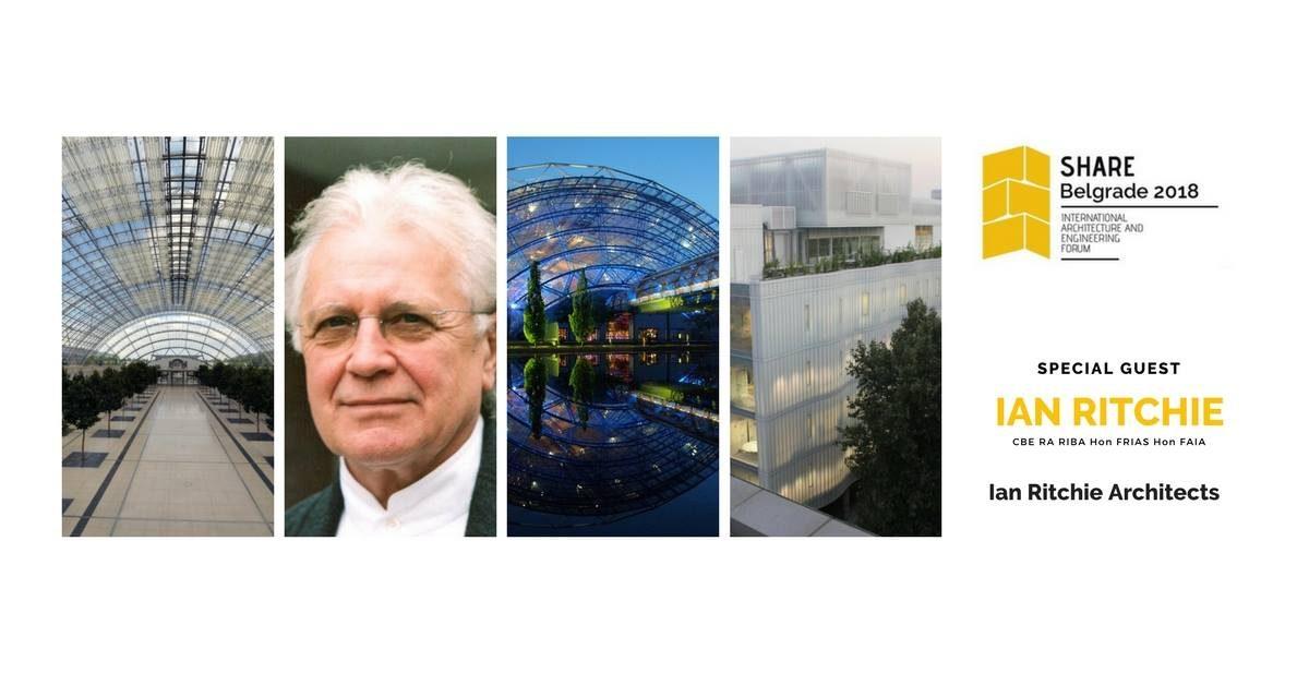 Prvi forum SHARE u Beogradu: Ian Ritchie, Zaha Hadid Architects i drugi