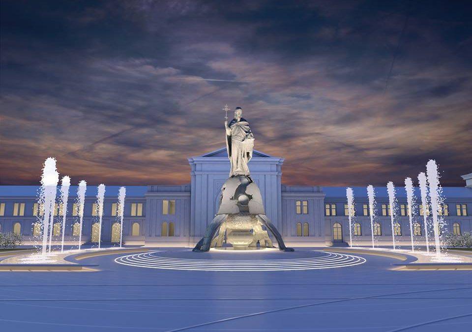 Ovako će izgledati skulptura i trg Stefana Nemanje u Beogradu
