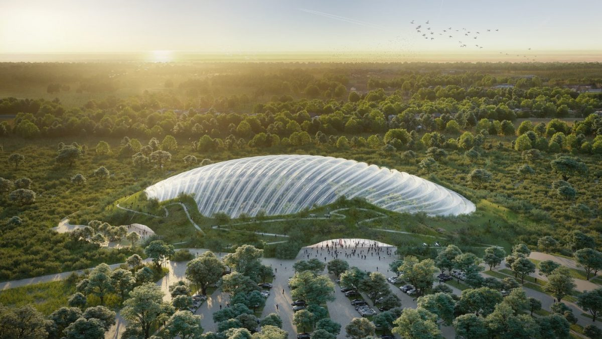 Najveća staklena tropska bašta pod jednom kupolom raste u Francuskoj