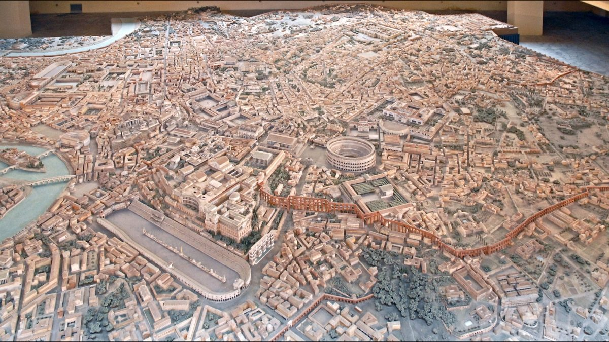 Ova maketa drevnog Rima pravljena je čak 38 godina