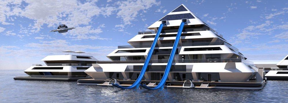 Plutajuće ekološke piramide kao budućnost za razvoj gradova