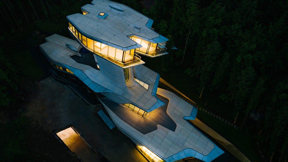 Izgrađena prva i jedina privatna kuća po nacrtu Zahe Hadid