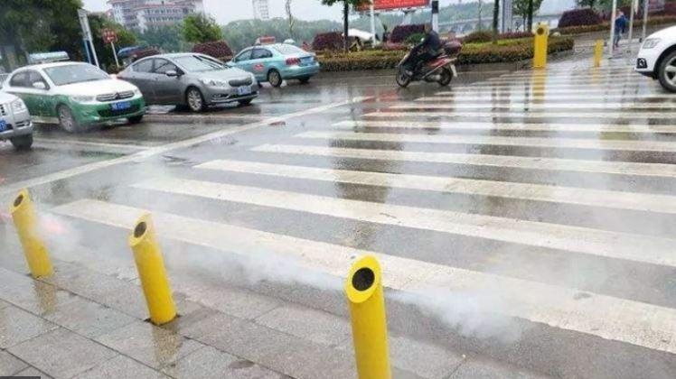 Kineska metoda sprečavanja prelaska pešačkog prelaza na crveno