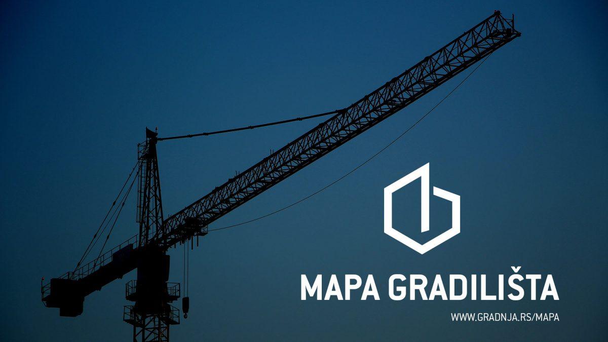 Novo na našem portalu: Mape gradilišta u Beogradu i Novom Sadu