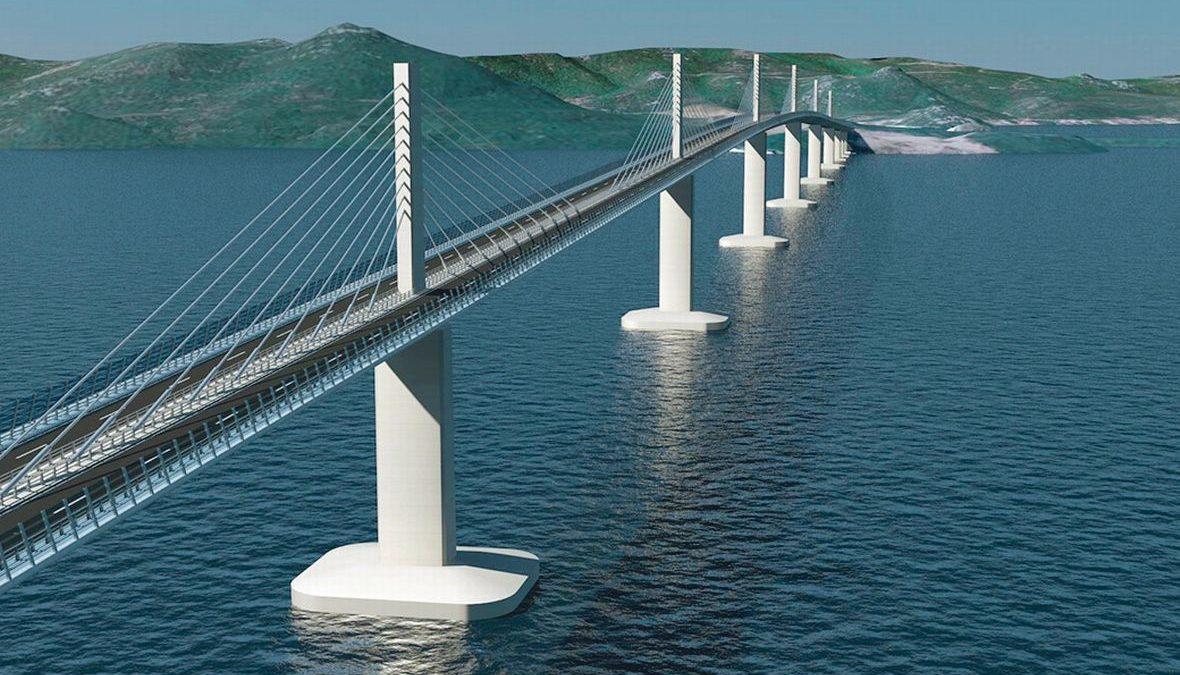 Kinezi grade Pelješki most koji će biti jedan od pet najvećih u Evropi