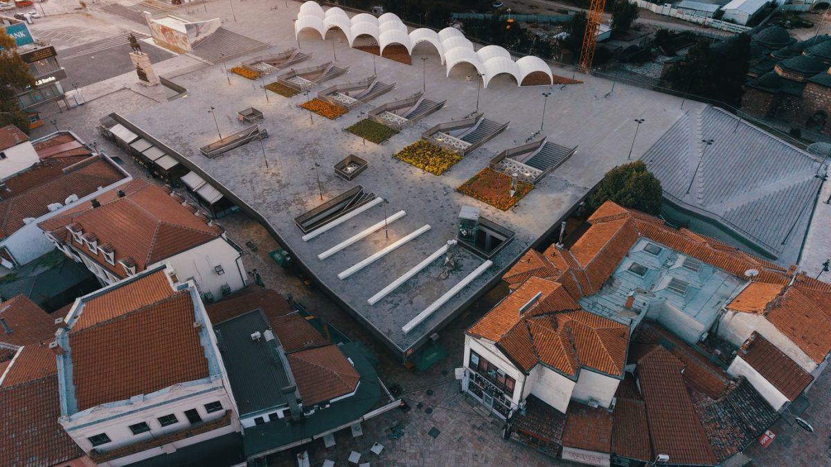 Skenderbegov trg u Skoplju povezao stari i novi deo grada