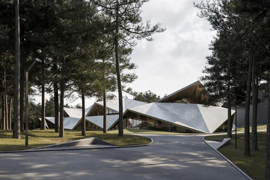 Spa centar na Zlatiboru po projektu slovenačke Enote