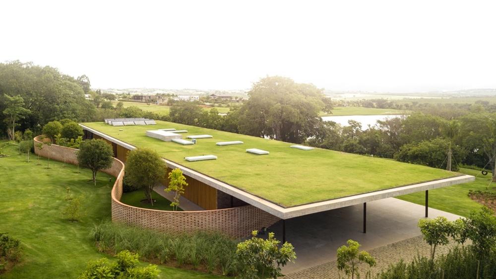 Zelena oaza u srcu Brazila zapravo je ekskluzivna vikendica od betona
