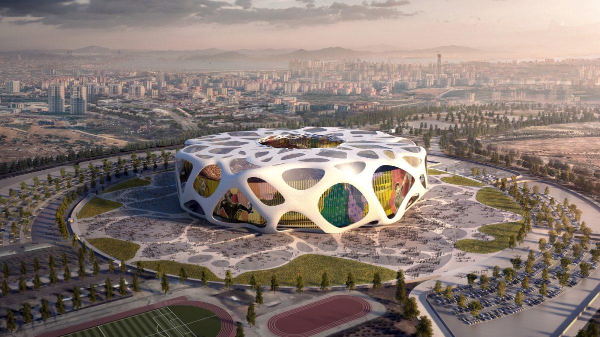 Turski stadion za EURO 2024 pretvara energiju vetra u struju