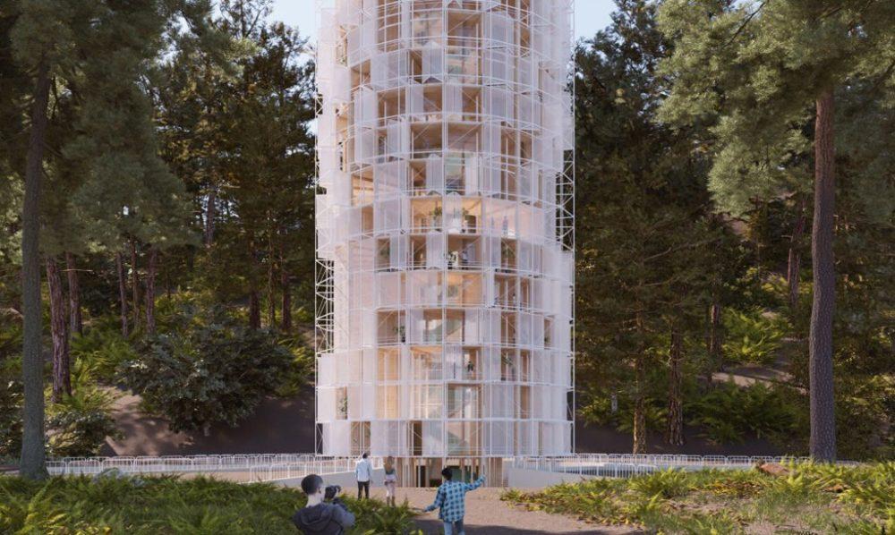 Ova kula obnavlja oblasti pogođene šumskim požarima