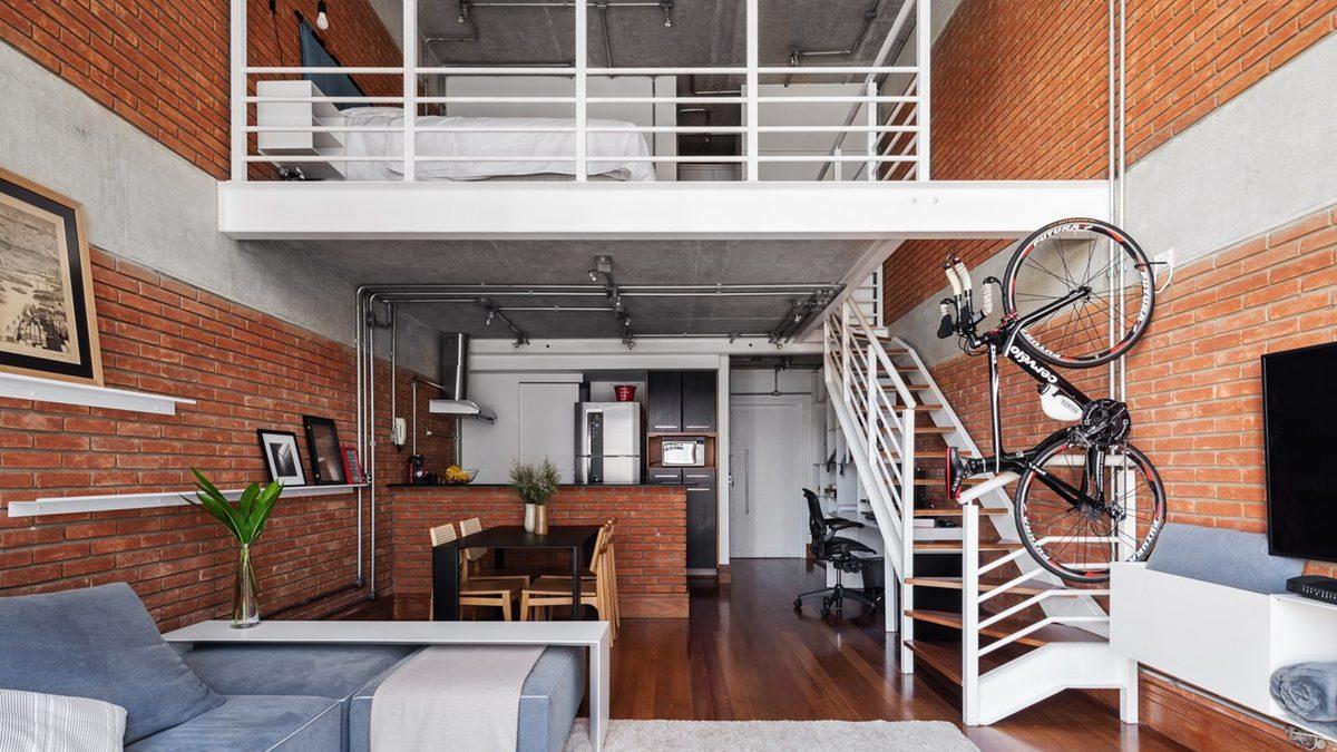 Ušteda prostora na pravi način: Mali dupleks u kojem se živi i radi