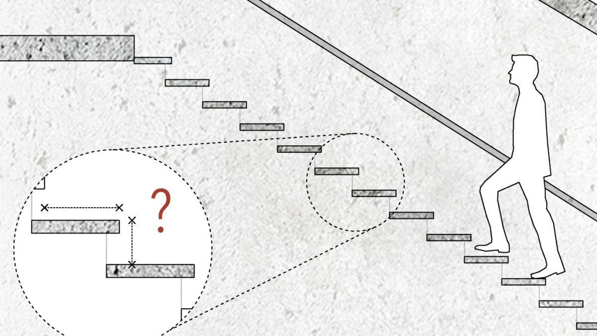 Kako sračunati dimenzije stepenika