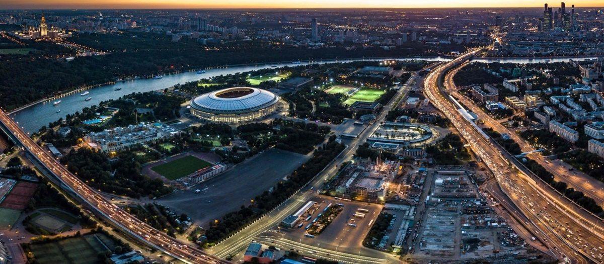 Impresivne sportske arene: Satelitski snimci svih 12 stadiona Svetskog kupa
