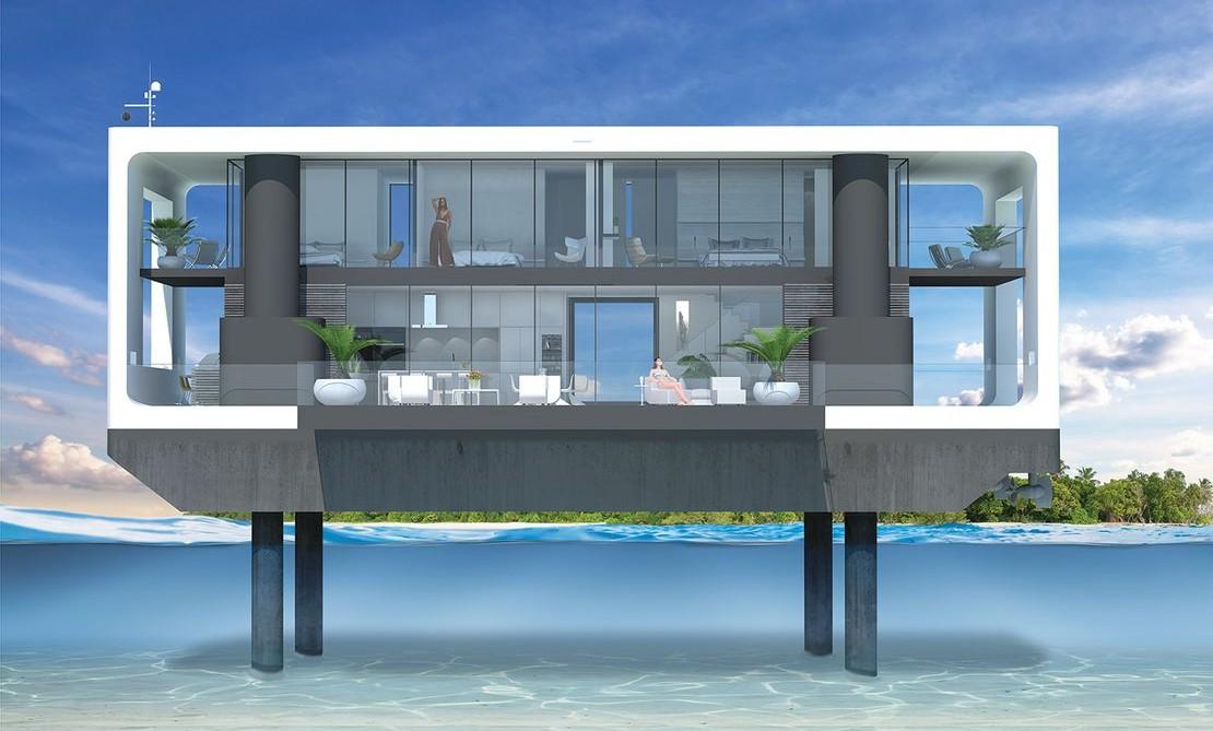 Ove ekološke kuće projektovane su da izdrže velike poplave