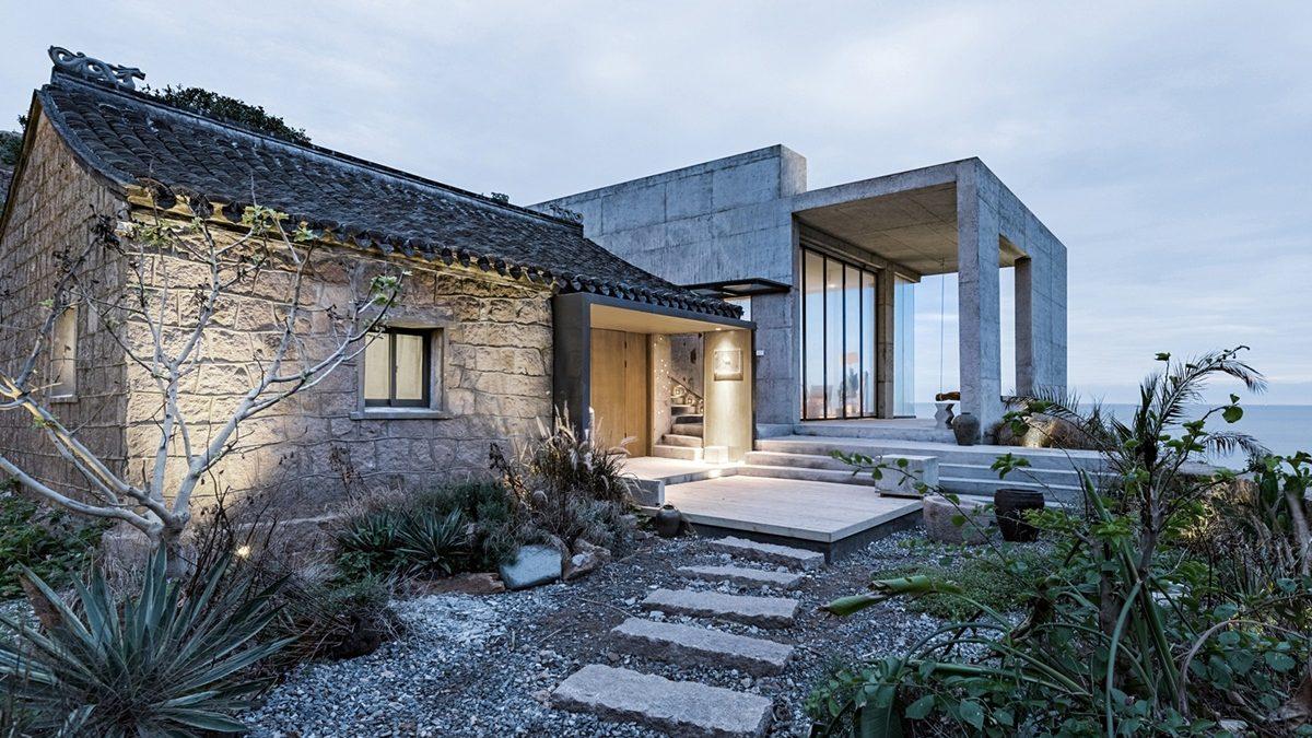 Rekonstrukcija rustične kamene kuće na obali mora