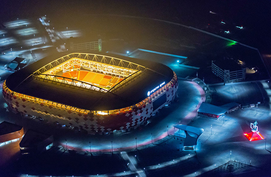 Ruski stadion na kojem će Srbija zaigrati odlučujuću utakmicu u grupnoj fazi