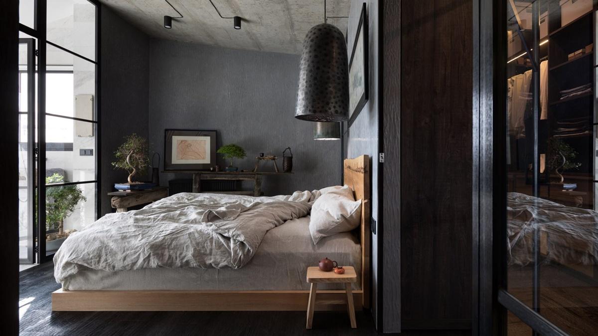 Porodični stan u Kijevu spaja japanski minimalizam s ukrajinskom tradicijom