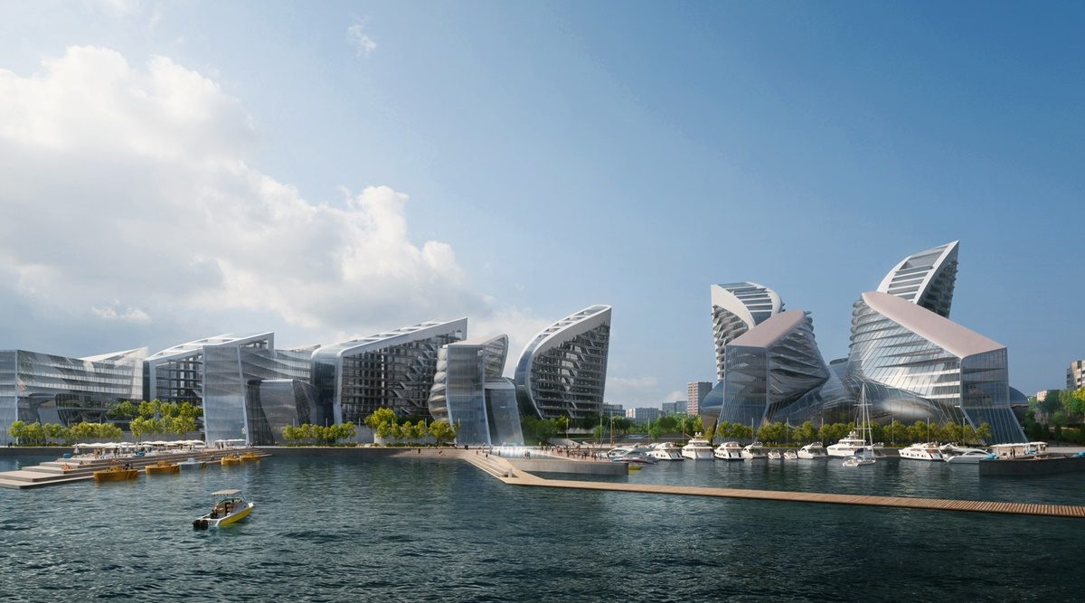 Zaha Hadid Architects preuređuju najveću luku u Rusiji